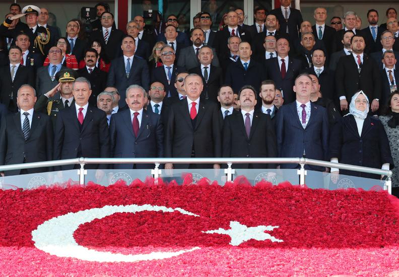 18 Mart Şehitleri Anma Günü ve Çanakkale Deniz Zaferi Cumhurbaşkanı Recep Tayyip Erdoğan'ın Katılımıyla Gerçekleştirildi