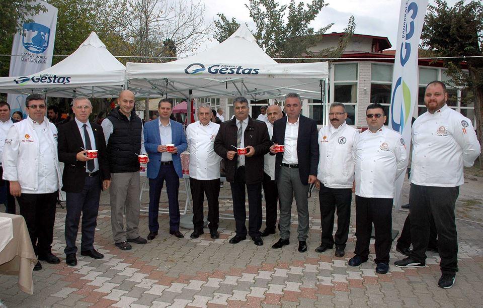 """""""2. Ulusal Aşçılar ve Pastacılar Şampiyonası"""" Çanakkale'de Başladı"""