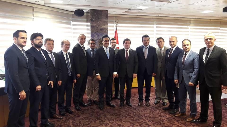 2018 Troia Heyetinden THY Yönetim Kurulu Başkanı İlker Aycı'ya Ziyaret