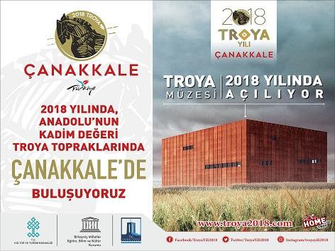 2018'in En Büyük Hamlesi; Troya Müzesi