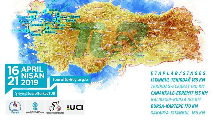 55. Cumhurbaşkanlığı Türkiye Bisiklet Turu Çanakkale'de