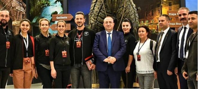 Anadolu Ateşi'nden Çanakkale Standına Ziyaret