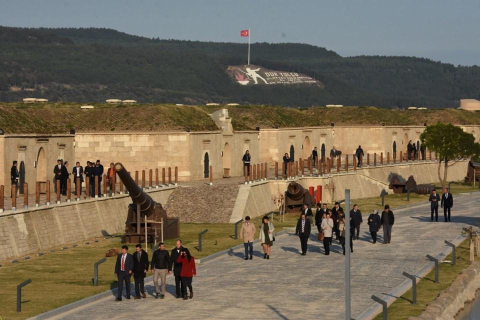 Anadolu Hamidiye Tabyası Ziyarete Açıldı