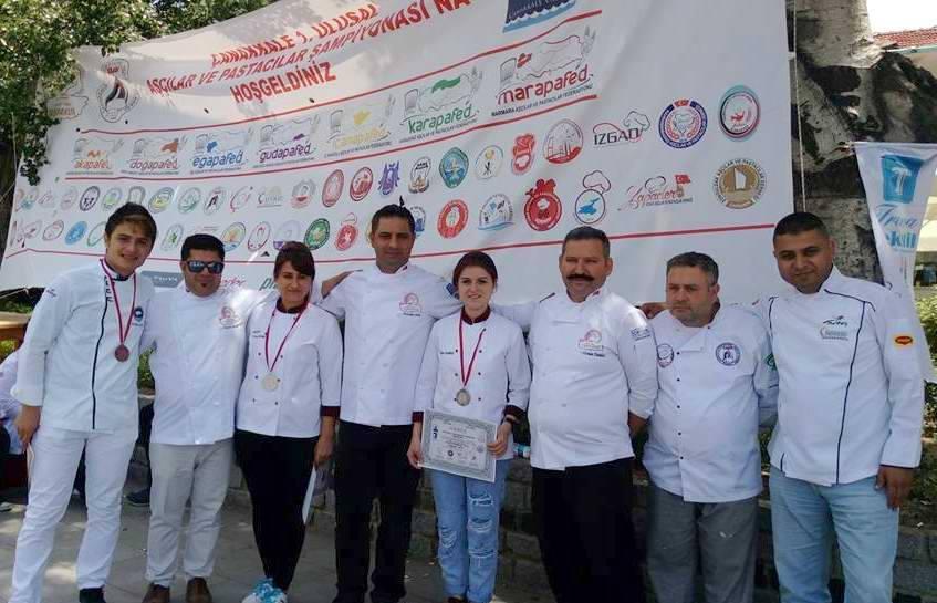 Aşçılar ve Pastacılar Çanakkale'de Hünerlerini Sergileyecek