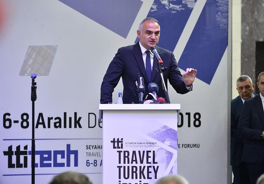 """Bakan Ersoy: """"Turizmde Bir Üst Lige Çıkma Zamanı"""""""