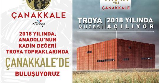 Basında Troya: Troya'yı Tüm Dünya Tanıyacak