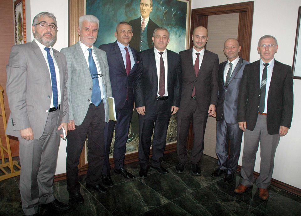 ÇATOD Yeni Yönetiminden Vali Tavlı ve Emniyet Müdürü Sel'e Ziyaret