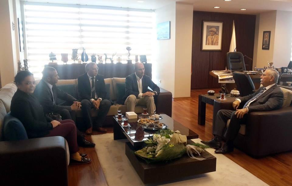 ÇATOD'dan Çanakkale Belediye Başkanı Ülgür Gökhan'a Ziyaret