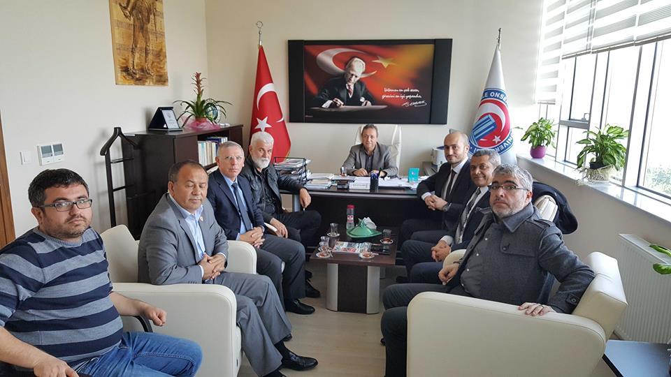 ÇATOD'dan ÇOMÜ Turizm Fakültesi Dekanı Ali Osman Uysal'a Ziyaret…