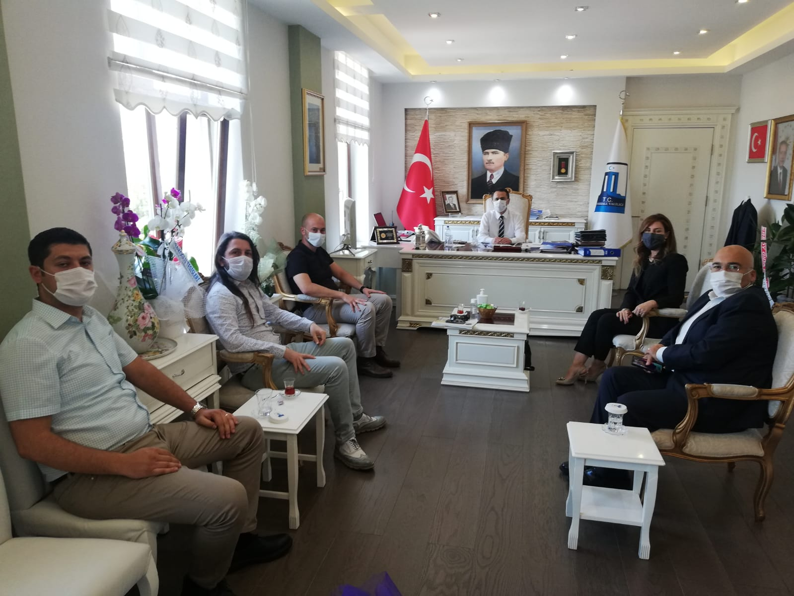 ÇATOD'dan Vali İlhami Aktaş'a Hayırlı Olsun Ziyareti