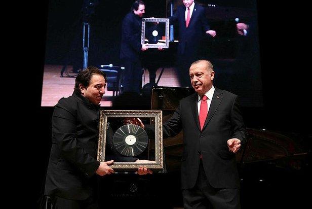 Cumhurbaşkanı Recep Tayyip Erdoğan Fazıl Say'ın Truva Sonatı Konserine Katıldı