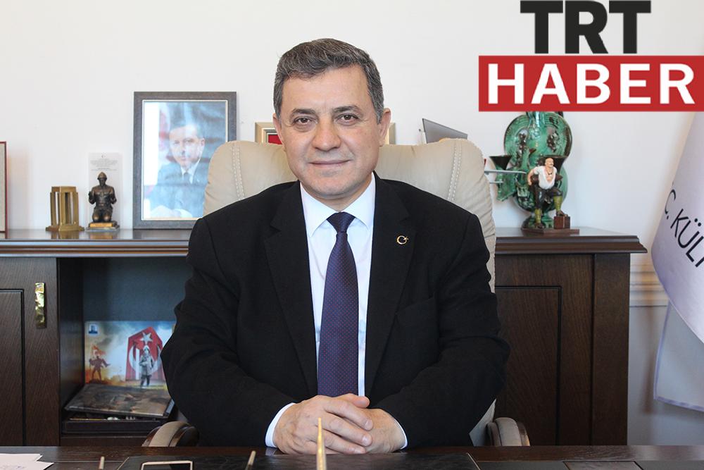 İl Kültür ve Turizm Müdürü Kemal Dokuz TRT Haber'e Konuk Oldu