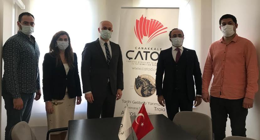 İl Kültür ve Turizm Müdürümüz Sayın Murat Yılmaz, ÇATOD Dernek Merkezimizi ziyaret etti