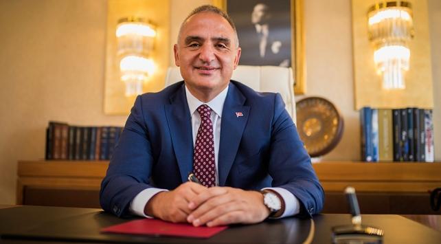 """Kültür ve Turizm Bakanı Mehmet Nuri Ersoy: """"Dünya Turizm Pazarında İlk 6'ya Girmeyi Planlıyoruz"""""""