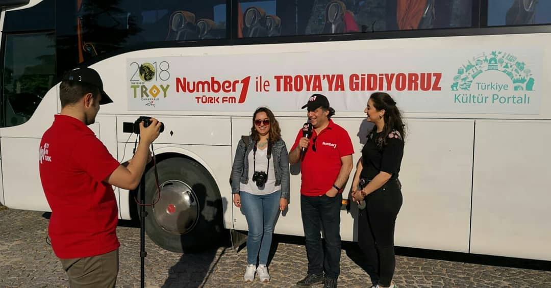 Number One ile Troya Gezisi
