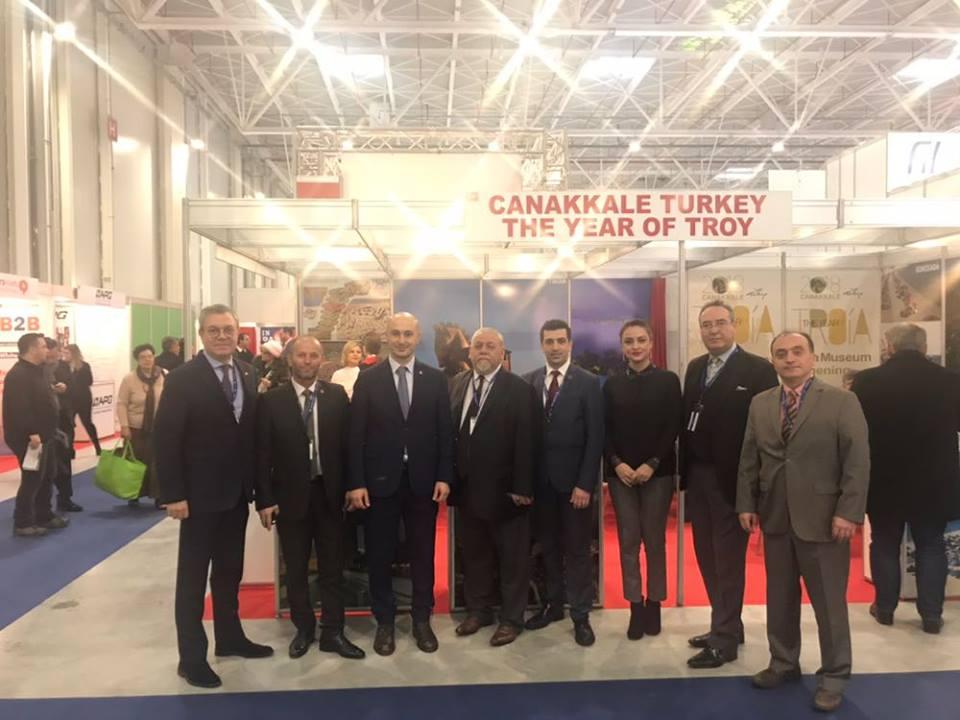 """Romanya Ttr Turizm Fuarı'nda Türkiye'nin Yükselen Turizm Markası: """"Çanakkale"""""""