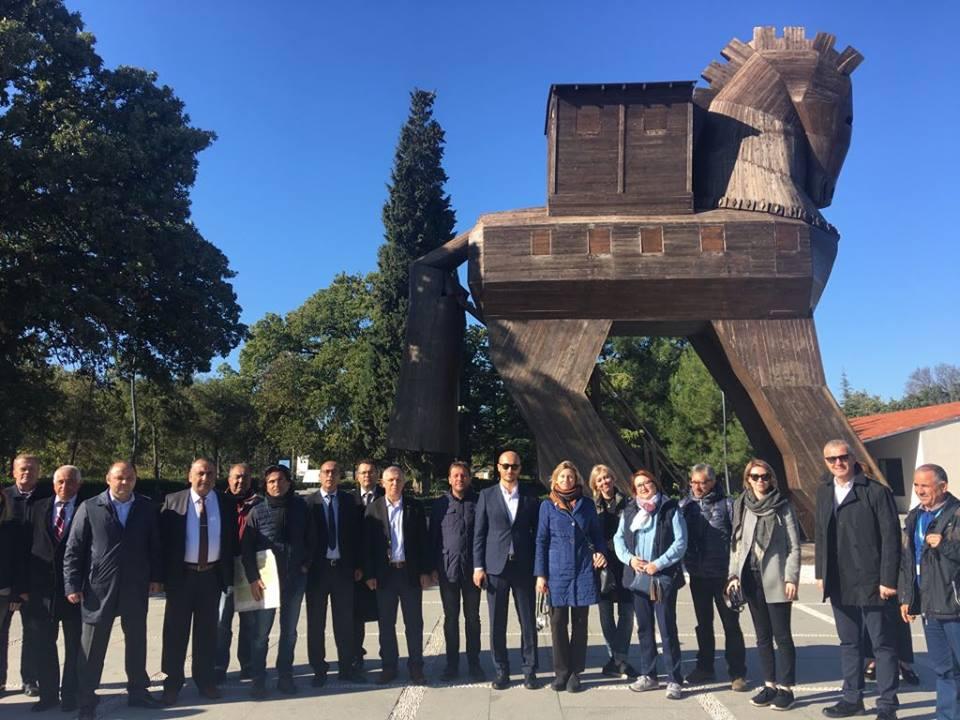 Rusya'nın Önde Gelen Seyahat Yazarları 2018 Troia Yılı İçin Çanakkale'de