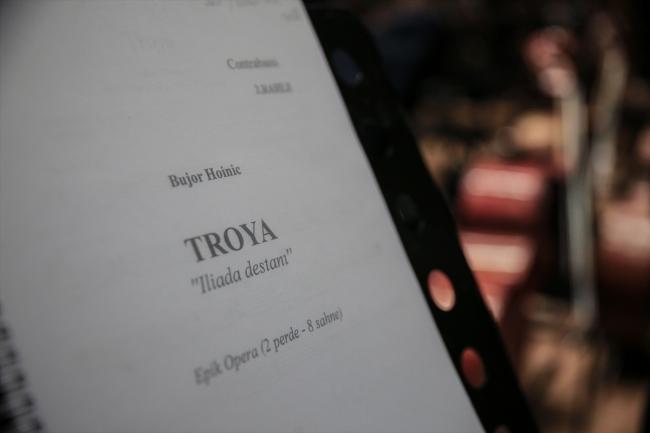 """Sanatla Troya: Yabancı Besteci Tarafından Yazılan İlk Türkçe Opera """"Troya"""""""