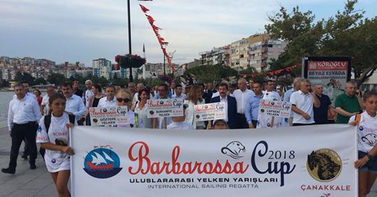 Sporla Troya: Uluslararası Barbarossa Cup Yelken Yarışları Çanakkale'de
