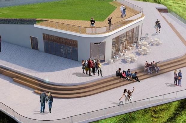 Troya Milli Parkı Yeniköy Plajı Günü Birlik ve Çadırlı Kamp Alanı Tamamlanıyor