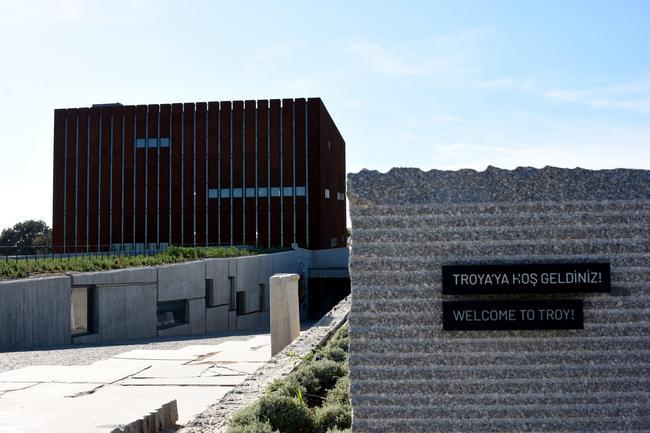 Troya Müzesi'ne Eğitim Gezisi