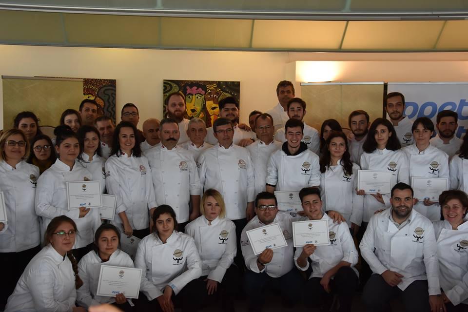 Troya Tatlısı Gastronomi Öğrencilerine Tanıtıldı