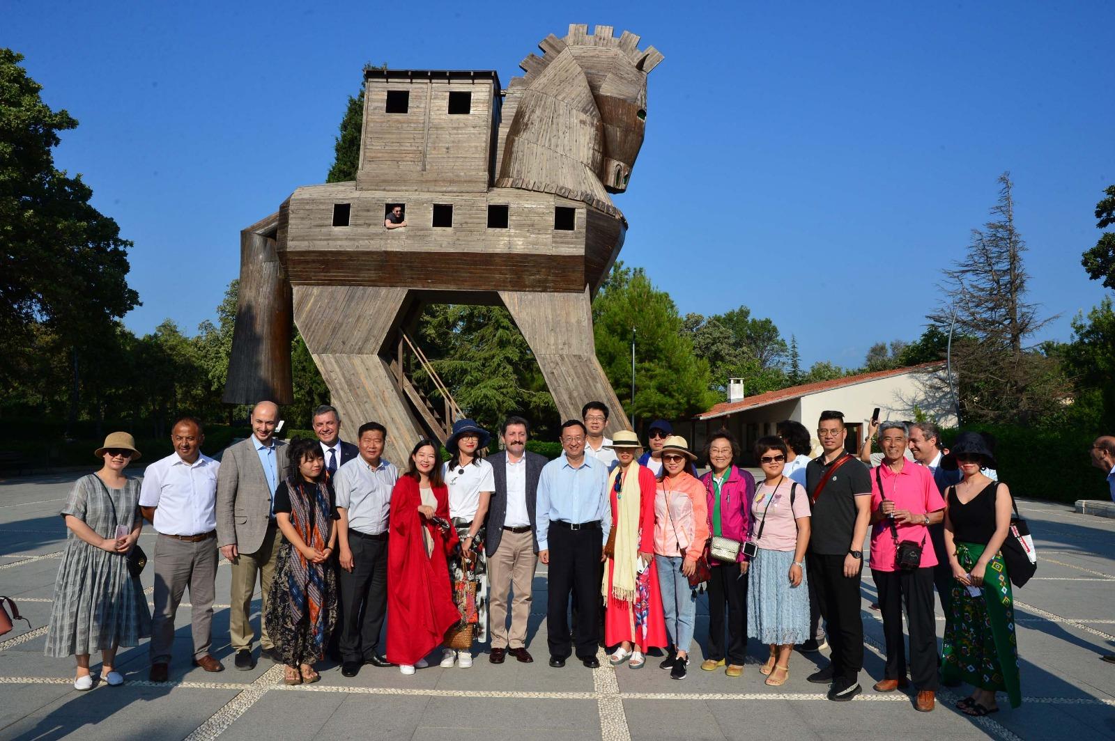 Troya Yılı Bu Kez Çin'de Tanıtıldı