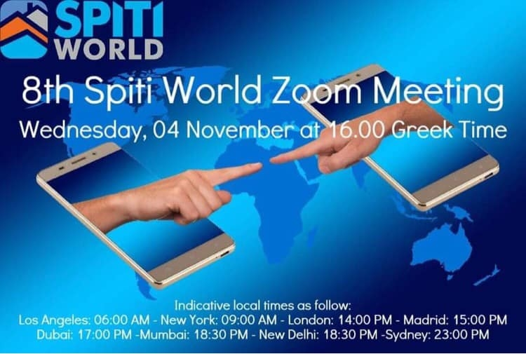 ÇATOD'dan ULUSLARARASI ONLINE 8. SPITI WORLD ZOOM MEETING'de ÇANAKKALE SUNUMU